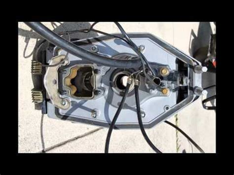 volvo penta duo prop stern drive  transom assembly  youtube