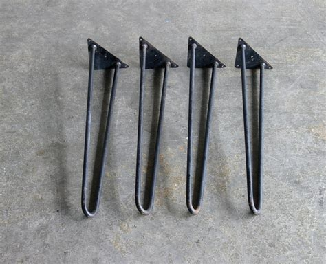 vintage hairpin legs set of 4