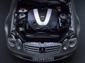 Mercedes Motors 2004 Mercedes Sl 600 Engine 1600x1200 Wallpaper