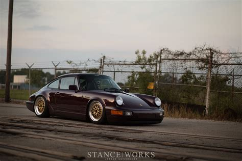 stanced porsche 964 stance works andrew farkas s porsche 964 on bbs e26 wheels