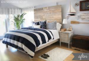 Nautical Bedroom Decor by Before Amp After Rustic Nautical Master Bedroom Makeover