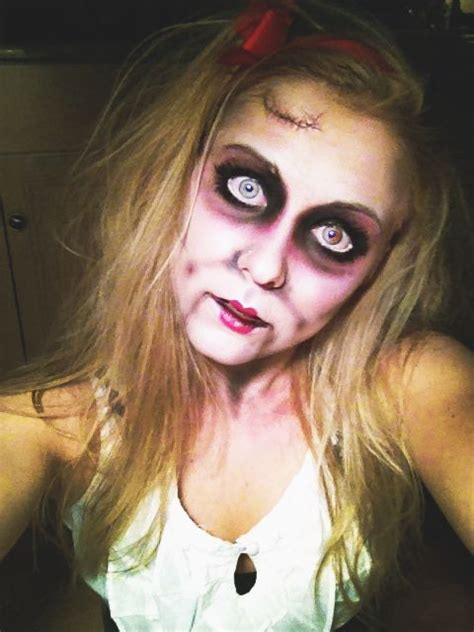 17 Best Ideas About Scary by 17 Best Ideas About Scary Doll Makeup On Doll