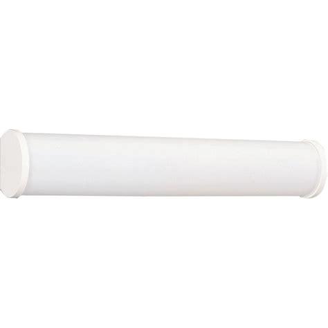 white bathroom vanities with fluorescent light fixtures by progress lighting 2 light white fluorescent vanity fixture