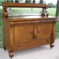 Antique Buffet Table For Sale Antique Tiger Oak Empire Sideboard Buffet Server