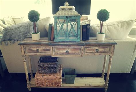 decorating a sofa table newsonair org farmhouse chic sofa table swooning over my white