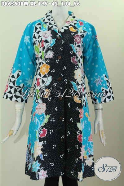 Square Dressbaju Terusan Wanita di jual baju batik terusan untuk wanita dewasa pakaian batik dress motif kombinasi bahan