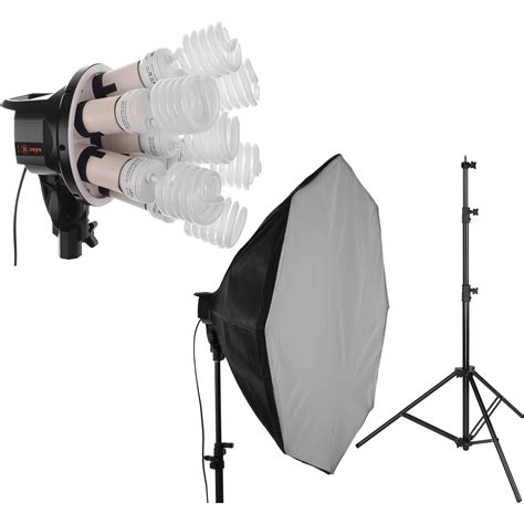 Softbox Lighting Kit raya octa fluorescent 7 socket fixture 1 light softbox