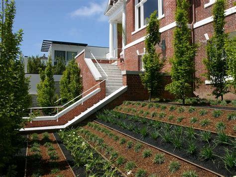 terraced house backyard ideas how to turn a steep backyard into a terraced garden