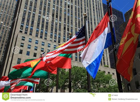 flags of the world new york city flags stock photos image 9774623