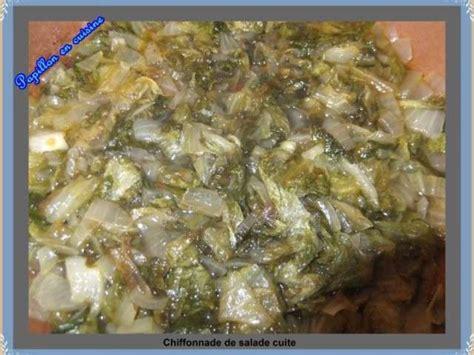 salade verte cuite recette cuisine les meilleures recettes de salade cuite