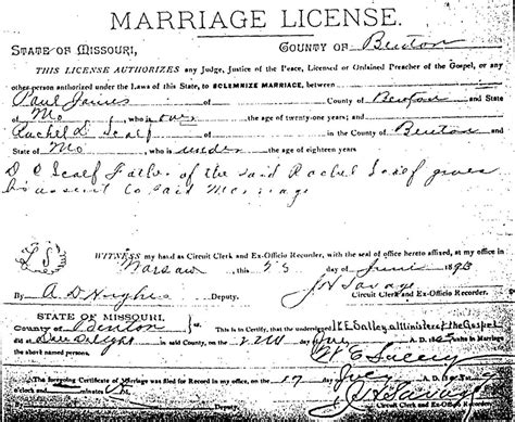Wv Marriage Records Ira Scalf Of Scalf