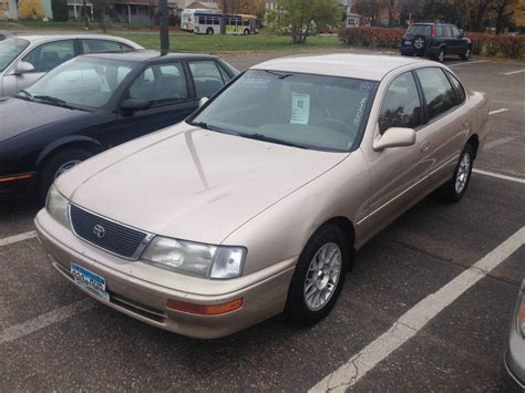 Toyota Avalon Horsepower 1996 Toyota Avalon Pictures Information And Specs