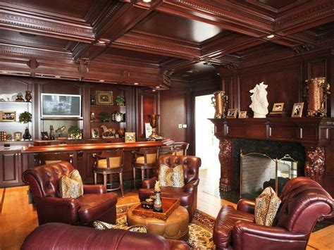 Interior Columns For Homes create a man cave in your garage home decor ideas