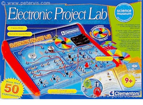 electronic project lab clementoni
