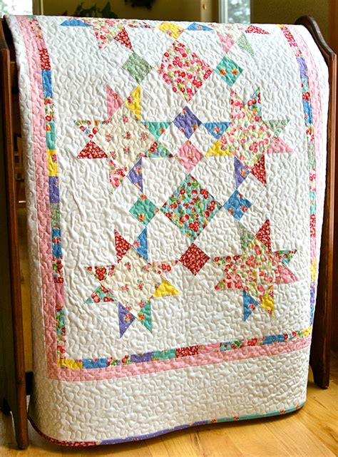 Handmade Crib Quilts - quilt baby handmade new 30s by lecien crib nursery