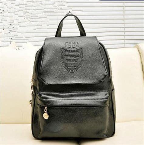 Backpack Fashion 8960 2016 south korea version new fashion leisure bags simple crown pu backpack bag