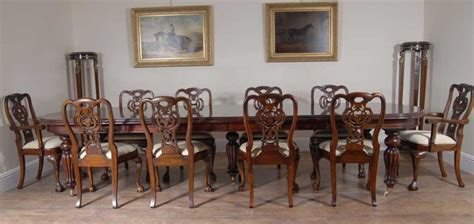 george ii dining chairs victorian table set