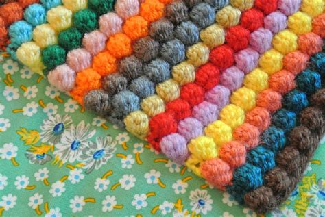 this pattern of color expression is most likely to be an exle of free pattern bobble blanket crochet pattern i would do