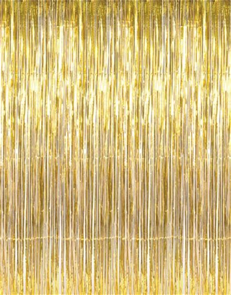 tinsel curtain 1 x 3 x 8 gold tinsel foil fringe door window curtain