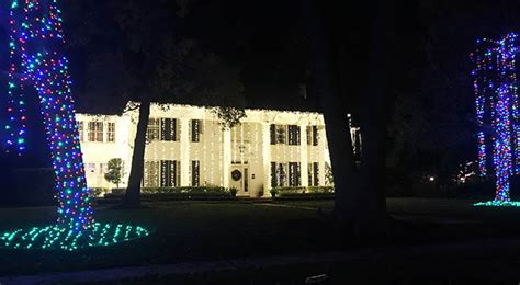 the best christmas lights in houston clumsy crafter
