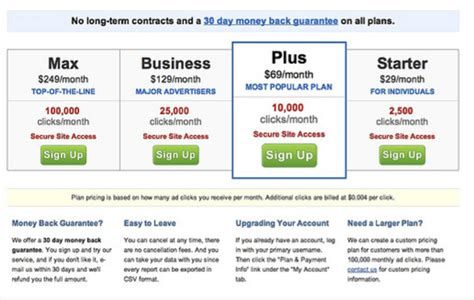 squarespace pricing subscription page ux design facebook purposefully obscure user interface design to