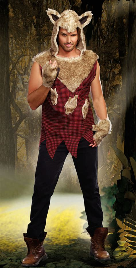 big bad wolf costume  men