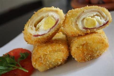 resep risoles mayonaise isi keju  smoked beef