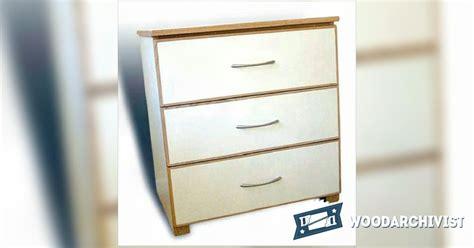 10 drawer dresser plans three drawer chest plans woodarchivist