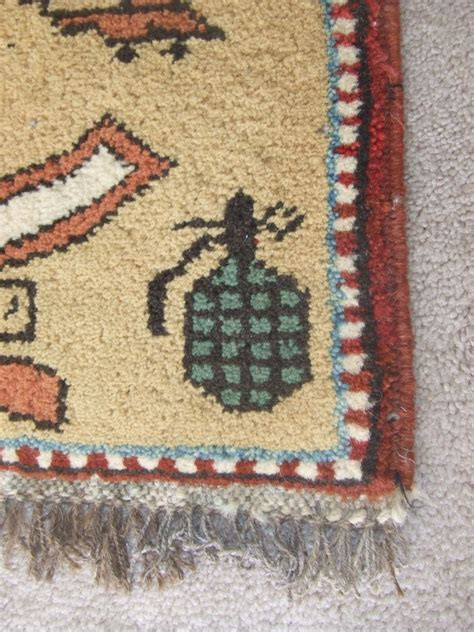 afghan war rugs afghan war quot rug quot from soviet era collectors weekly