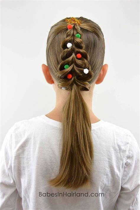10 of the most creative christmas hairstyles ever