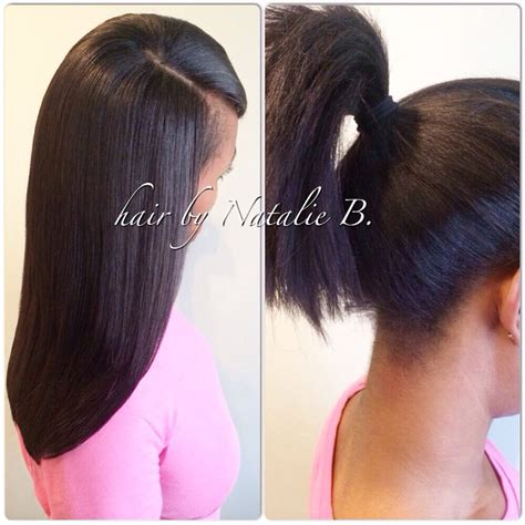 what hair good for sew in ponytail 17 best images about hair looks on pinterest shoulder