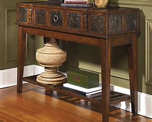 mckenna sofa table mckenna sofa console table ashley furniture homestore