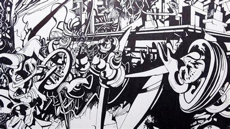 black  white graffiti wallpapers   fun