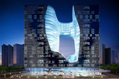 Trump President by Zaha Hadid Designed The Opus Project In Dubai Takes Shape