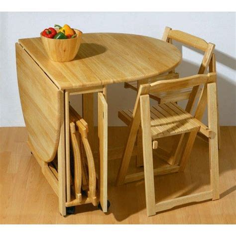 Folding Table With Chairs Stored Inside Portable Table And Chairs Chairs Seating