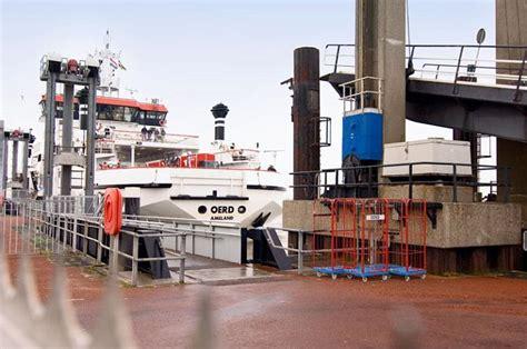 boot ameland vaartijd dienstregeling