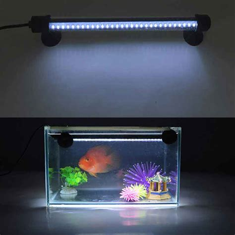 waterproof led lights for fish tanks led aquarium light fish tank l fishbowl lighting