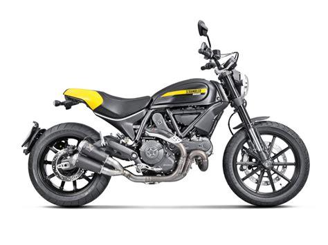 Motorrad Exhaust akrapovic auspuff f 252 r ducati scrambler motorrad fotos