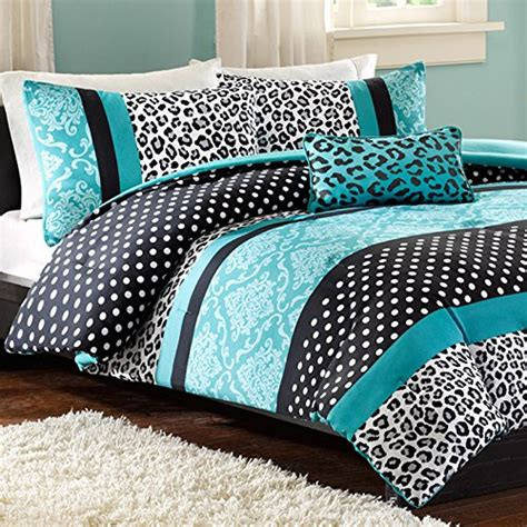 Black And Teal Comforter Set by Teal And Black Bedding