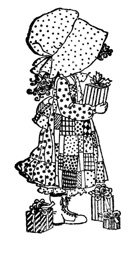 holly hobbie clear st coloring pages pinterest
