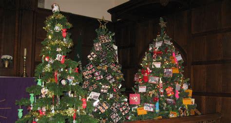 christmas tree festival at st thomas church destination