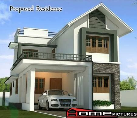 pictures of new design houses kerala new home design with plan home pictures