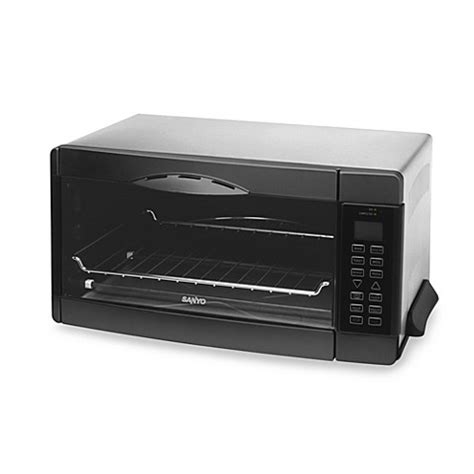 Toaster Sanyo Sanyo Six Slice Digital Convection Toaster Oven Bed Bath Beyond