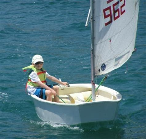 sailing dinghy greece optimist for kids picture of naoussa sailing team