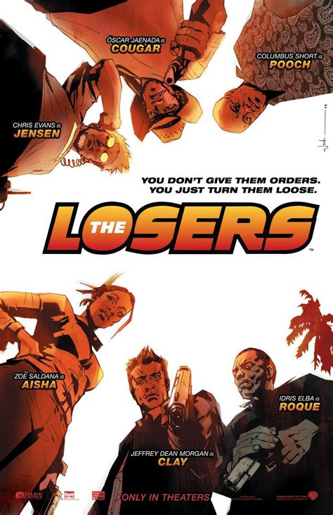 the blot says the losers comic book inspired one sheet