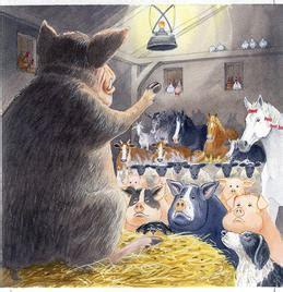 animal farm york notes 1292100788 plot summary what happens in animal farm chapter 1 animal farm