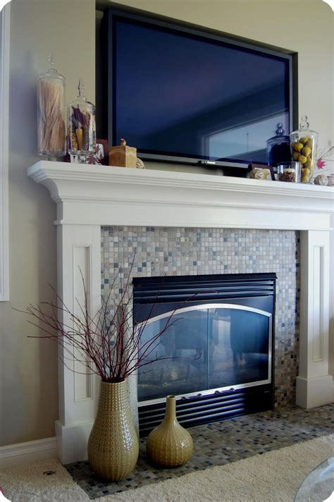 how to decorate fire place how to decorate a fireplace mantel with a tv fireplace