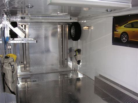 Cer Trailer Interior Ideas by Pimped Out Enclosed Trailers Pelican Parts Technical Bbs
