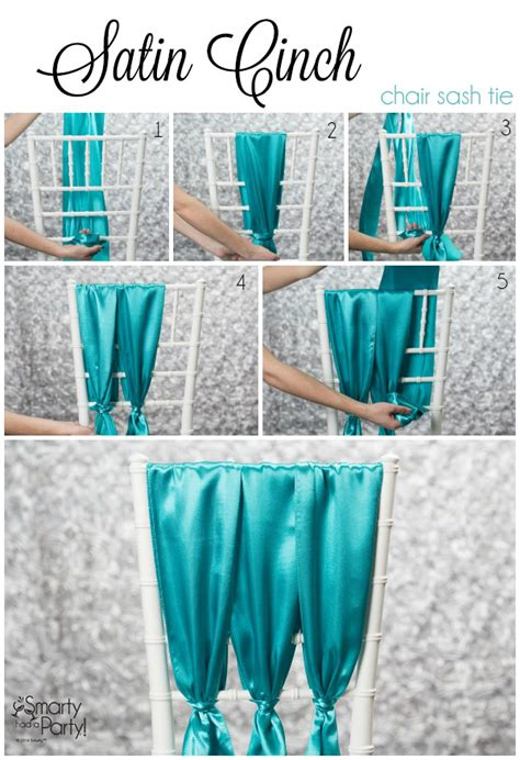 How To Tie Wedding Chair Sashes Youtube » Home Design 2017