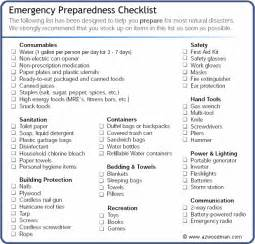 emergency response checklist template emergency prepare checklist